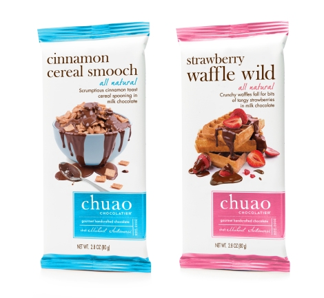 Cinnamon Cereal Smooch and Strawberry Waffle Wild bars