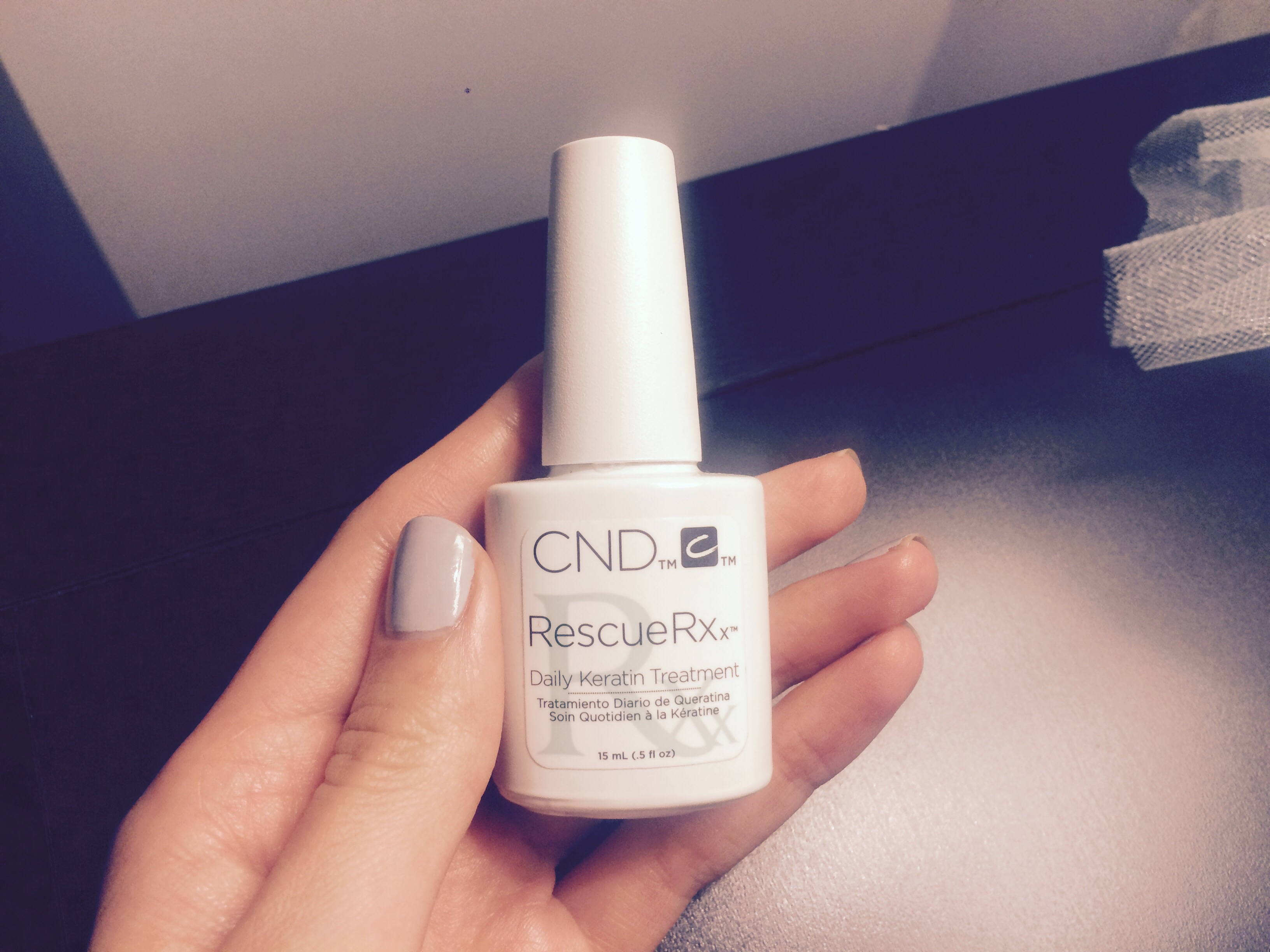 Daily Keratin Treatment Rescue Rx Nail Strengthener Launched By CND ...